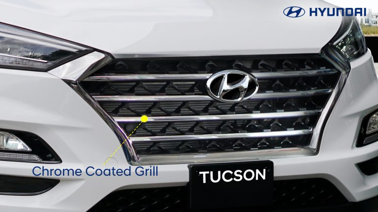 2-Chrome Coated Grille