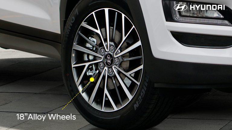 3-Alloy Wheels
