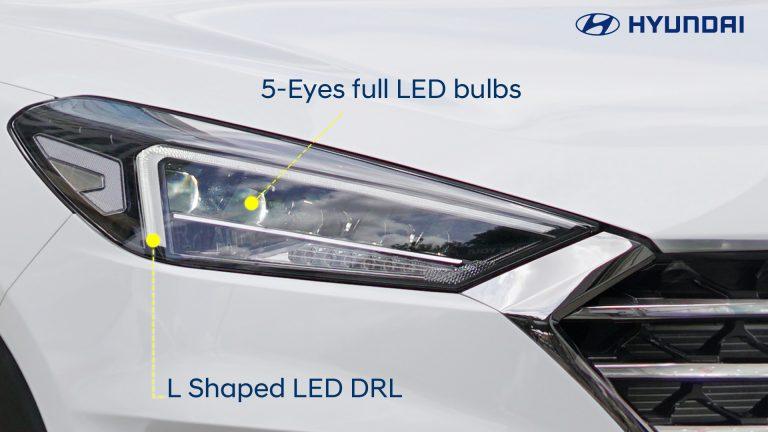 4-DRL & 5eys LED bulbs