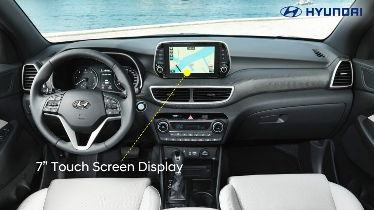 7-7inches touch screen display